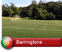 Barringtons Professional Football Training Centre in Portugal